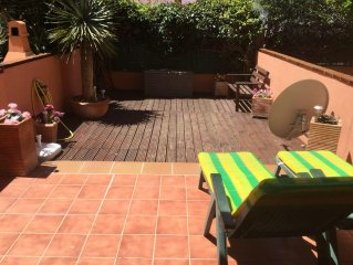 Two Bedroom Ground Floor Duplex Apartment With Private Garden Area, Shared Pool