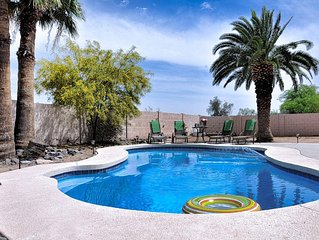 COZY FAMILY 3 BR/2 BA HOUSE WITH PRIVATE POOL