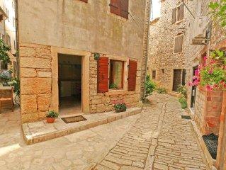 Istrisches Steinhaus in der Altstadt von Bale