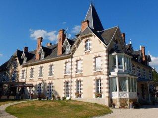 gite independant dans chateau en Sologne (18)