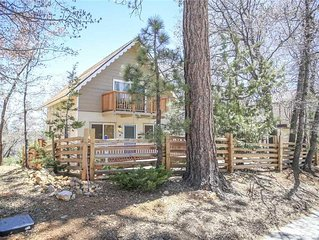 Wolf Road Retreat: 2 BR / 1.5 BA home in Big Bear, Sleeps 7