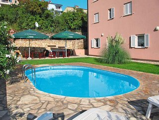 Apartment Appartementhaus Chantal  in Rabac, Istria - 2 persons