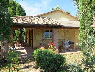 Vacation home Casa Erbe  in Montescudaio, Riviera degli Etruschi - 4 persons, 2
