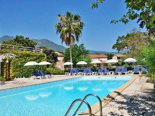 Apartment Residence Sole et Mare  in St. Maria Poggio, Corsica - 6 persons, 2 b