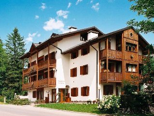 Apartment Residence Hermine I  in Borca di Cadore, Dolomites - 4 persons, 1 bed