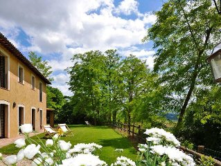 Vacation home Casale Poggio  in Castiglione in Teverina, Umbria - 8 persons, 4