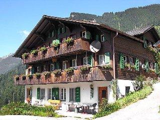Apartment Auf dem Vogelstein  in Grindelwald, Bernese Oberland - 2 persons, 1 b