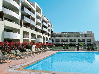 Apartment Residence Le Lido  in Cagnes - sur - Mer, Cote d'Azur - 4 persons, 1