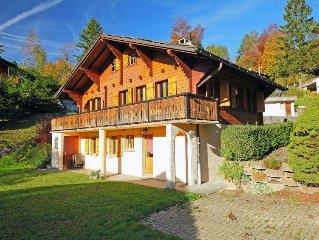 Ferienhaus Chalet Le Hibou  in Gryon, Waadtlander Alpen - 6 Personen, 3 Schlafzi