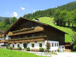Apartment Ferienwohnung Schusterhausl  in Schwendau, Zillertal - 5 persons, 2 b