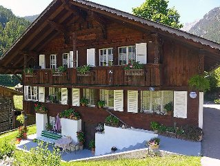 Apartment In dr Schluecht  in Grindelwald, Bernese Oberland - 5 persons, 2 bedr