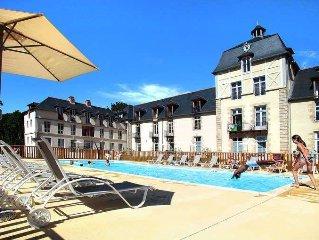 Apartment Rés. Le Château de Kergonano  in Baden, Morbihan - 4 persons, 1 bedro