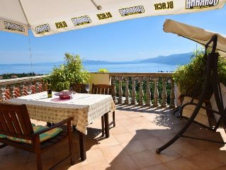 Apartment Osojnak  in Opatija/Kastav, Kvarner - 9 persons, 4 bedrooms