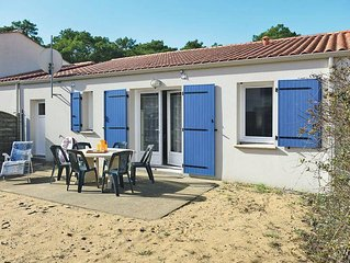 Ferienhaus in Longeville - sur - Mer, Vendée - 5 Personen, 2 Schlafzimmer