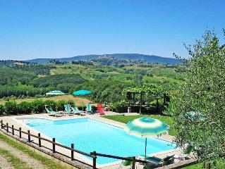 Ferienhaus Villa Pratoverde  in San Gimignano (SI), Siena ( Region) - 10 Persone