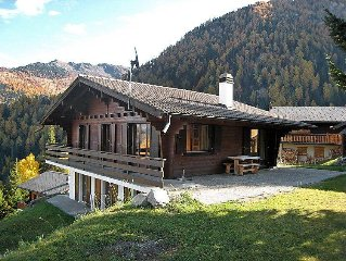 Vacation home Chalet Par Le Travers  in La Tzoumaz, Valais - 8 persons, 4 bedro