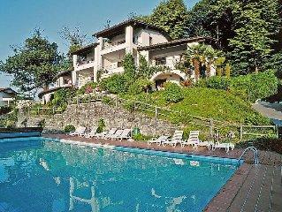 Ferienwohnung Miralago (Utoring)  in Piazzogna, Tessin - 4 Personen, 2 Schlafzim
