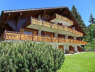 Ferienwohnung Sapin Bleu  in Villars, Waadtländer Alpen - 3 Personen, 1 Schlafzi
