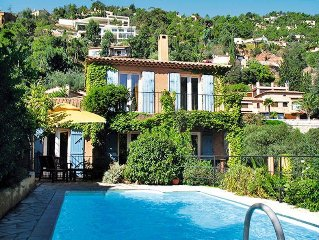 Vacation home in Theoule - sur - Mer, Cote d'Azur - 5 persons, 2 bedrooms