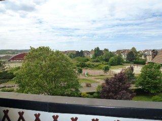 Apartment Le Garden Fleuri  in Blonville sur mer, Normandy - 4 persons, 2 bedro