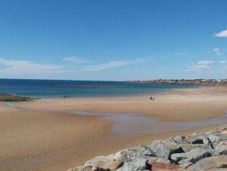 Ideale pour la famille 50m d'une plage de sable, boulangerie et restaurants