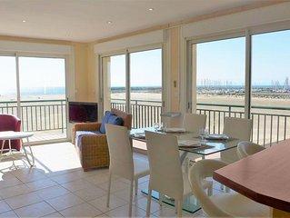 Apartment Corsaires 6  in Saint Pierre La Mer, Hérault - Aude - 6 persons, 2 be