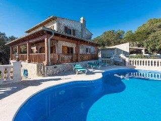 Vacation home Villa Sa Mola  in Esporles, Mallorca - 10 persons, 5 bedrooms