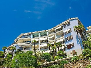 Apartment Double Room Modern  in Ascona, Ticino - 2 persons, 1 bedroom