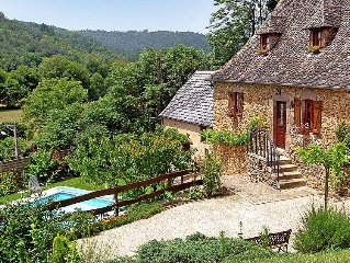 Vacation home Tres Peuch  in Argentat, Limousin - 6 persons, 3 bedrooms