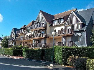 Apartment Fleur Marine  in Cabourg, Normandy - 6 persons, 2 bedrooms