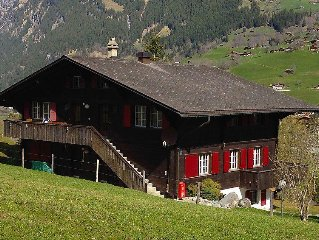 Apartment Chalet Judith  in Grindelwald, Bernese Oberland - 4 persons, 2 bedroo