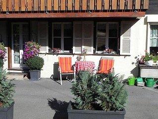 Ferienwohnung Stähli-Huus  in Interlaken, Berner Oberland - 5 Personen, 1 Schlaf