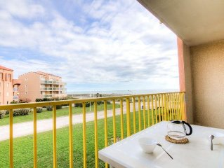 Apartment Palm Beach  in Le Barcares, Pyrenees - Orientales - 4 persons, 1 bedr