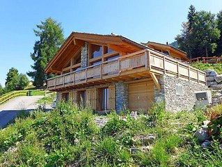 Ferienhaus Chalet Flocon de Neige  in Nendaz, Wallis - 9 Personen, 4 Schlafzimme