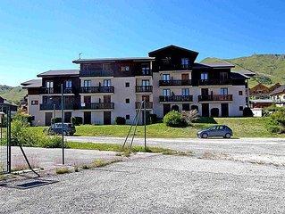 Apartment Plein Soleil  in La Toussuire, Savoie - Haute Savoie - 4 persons, 1 b