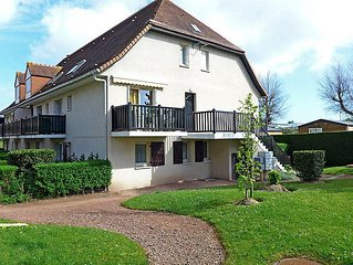 Apartment La Cote Fleurie  in Cabourg, Normandy - 2 persons, 1 bedroom