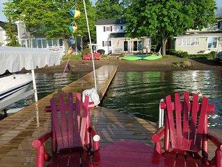 Renters Paradise (Keuka Lake East Side, level lot, pebble beach, Hammondsport)