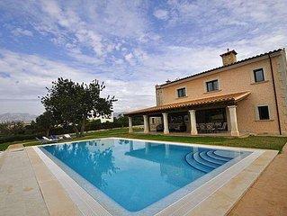 Extraordinaria casa con piscina para 8 personas en Marratxi