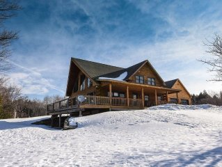 Newly Renovated Log Home Close To Mt. Snow And Hermitage/MT Views/Vast/Pond