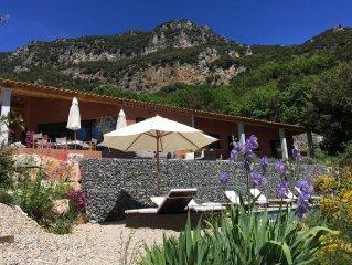 Belle villa, superbe vue  Mediterranee et montagnes