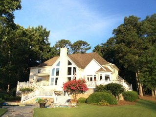 Million $ Gorgeous Home with Pool &  500 Ft. of Lakefront!