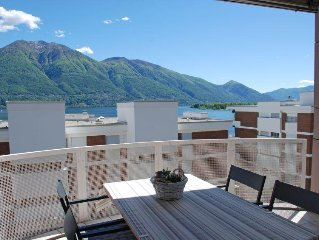 Apartment Residenza Canto Sereno  in Minusio, Ticino - 6 persons, 3 bedrooms