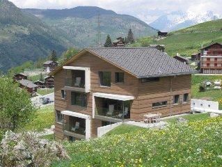 Apartment Sera Lodge, Wohnung Brunegghorn  in Grachen, Valais - 6 persons, 3 be