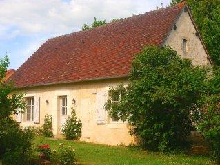 16th Century Stone Cottage in the Heart of Le Perche