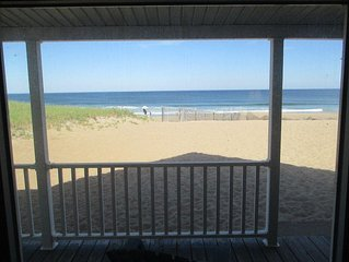 5 Bedroom Ocean Front Beach House On Beautiful North Salisbury Beach!