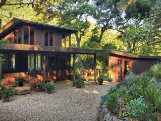 3 Bedrooms/3 Baths Wine Country Retreat On 5 Acres In Sunny Carmel Valley, CA