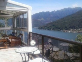Beautiful Lake View Apartment - Morcote (Lugano)