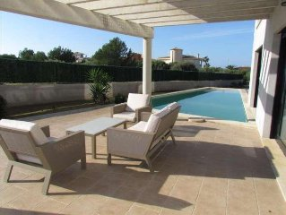Design house with pool and mini-golf en Sa Torre