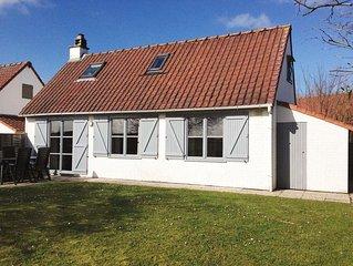 De Panne: 6-pers. vissershuis op domein met zwembad bij Plopsaland free WiFi