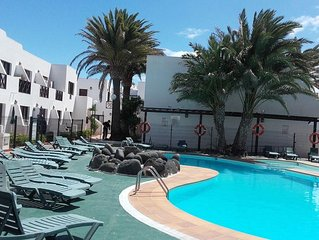 Aloha Corralejo beach appartament, terrace whit sea view, WIFI, free